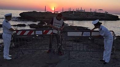 """Punta della Suina, un altro sequestro """"Anche i bagni del lido sono fuorilegge"""""""