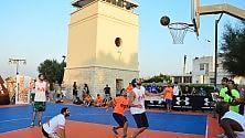 Torre Quetta si trasforma in playground da basket