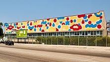 La street art colora lo stadio del nuoto