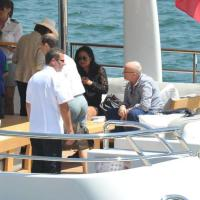Brindisi, c'è Phil Collins sullo yacht ormeggiato al porto