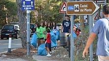 Rifiuti a Castel del Monte ci pensano i cittadini