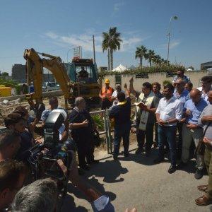 """Bari, dopo 40 anni via ai lavori a San Girolamo: """"Sarà la spiaggia più bella dell'Adriatico"""""""