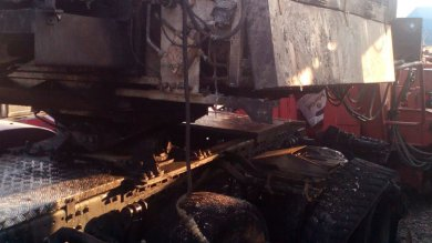 "Foggia, in fiamme due tir di un'azienda di energia eolica: ""Forse è un avvertimento"""
