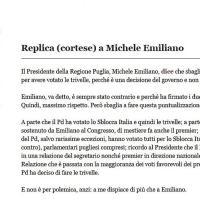 """Emiliano-Civati, polemica sulle trivelle: """"Volute dal Pd"""""""