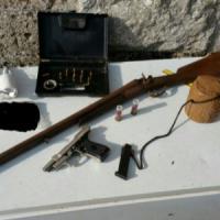 Poggiorsini, la masseria era stata trasformata in un arsenale: arrestato
