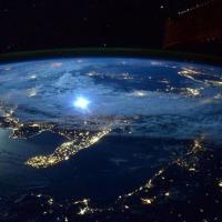 Nasa, lo spettacolo della Puglia vista dallo spazio