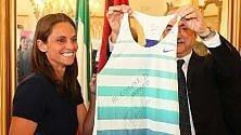 Taranto premia Roberta Vinci: encomio solenne alla regina del tennis