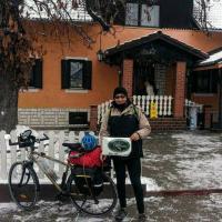 Da Bari a Auschwitz in bici: il viaggio di Alessandro