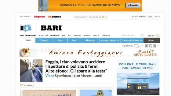 Dalla homepage l 39 accesso a tutte le for Repubblica homepage it