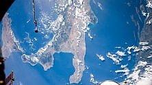 La Puglia vista dal cielo la foto è dell'astronauta