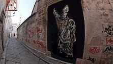 Street art, l'omaggio   al patrono di Andria