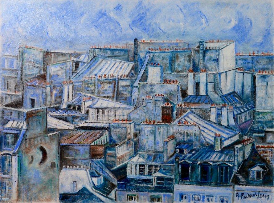 Casa rubini anche il padre un artista ecco i quadri for Quadri di parigi