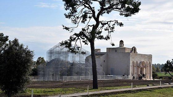 Siponto, la basilica paleocristiana delle meraviglie rivive con 7 tonnellate d'acciaio