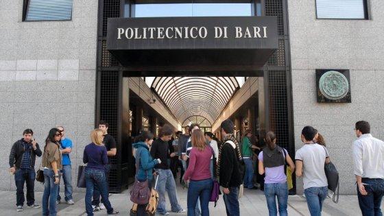 Bari, il record del Politecnico: con un ranking da cinque A è secondo soltanto alla Bocconi
