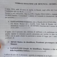 Referendum, a Lecce 60enne querela Renzi e Napolitano: