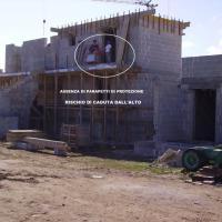 Puglia, la fotodenuncia sui cantieri edili a rischio
