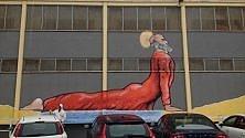 Maupal, dopo Super Pope c'è il murale di san Nicola