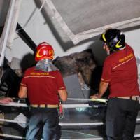 Brindisi, incendio doloso nella nuova pizzeria del parco comunale: inaugurazione