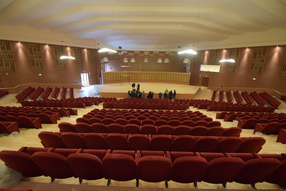 Bari riapre l 39 auditorium nino rota in sala 750 posti 1 for Nuova apertura grande arredo bari