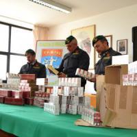 Taranto, torna il contrabbando di sigarette: sequestrato un carico di 370