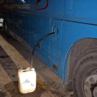Corato, rubava gasolio dai pullman delle Ferrovie Bari Nord: arrestato un