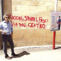 Lecce, vandali ancora in azione: scritte sulla facciata del santuario di