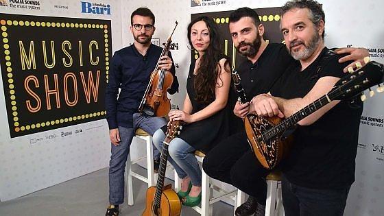 """Canzoniere Grecanico Salentino a Music show: """"La nostra musica dai migranti alla Tap"""""""