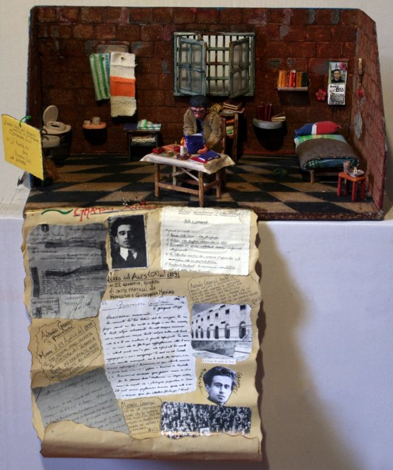 Gramsci visto da dietro le sbarre: i disegni dei detenuti