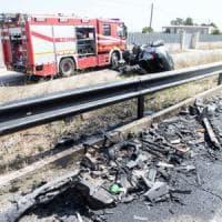 Incidente stradale, 26enne muore travolto dalla sua auto: nel Tarantino