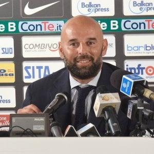 """Bari calcio, Stellone si presenta: """"Questa è una piazza calda, sono qui per vincere"""""""
