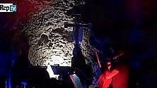Il jazz nell'antico eremo scavato nella roccia