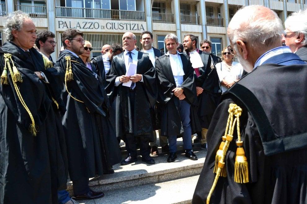 Bari, magistrati e avvocati al sit-in per la Turchia