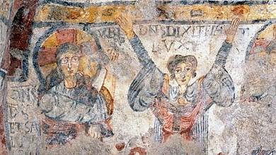 Ft  Riapre la Cripta del Peccato originale Matera ritrova la sua 'Cappella Sistina'