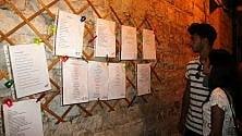 Barletta, i versi sui muri  nella 'stradina dei poeti'