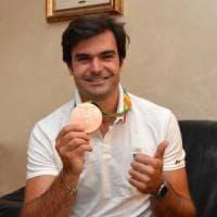 Rio 2016, Domenico Montrone fa festa a Bari: