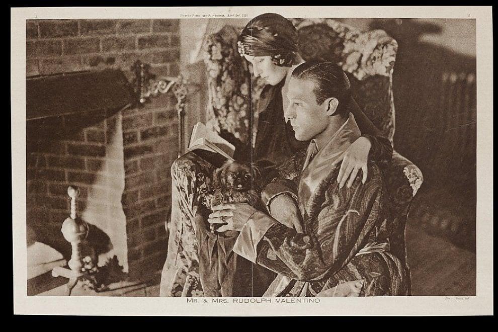 Mito e seduzione, la mostra su Rodolfo Valentino