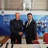 """Bari, il ct Ventura presenta l'amichevole Italia-Francia  """"Sulle orme di Antonio Conte"""""""