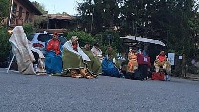 Terremoto nel Centro Italia, notte all'aperto  per i calciatori del Foggia in ritiro a Norcia