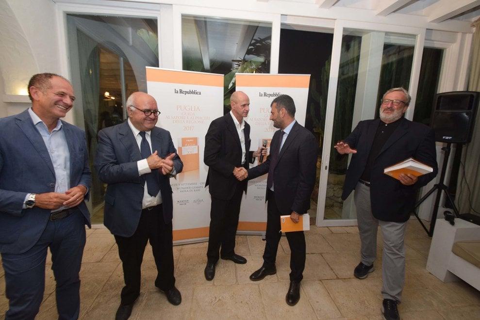 Bari, la festa per la Guida di Repubblica ai ristoranti