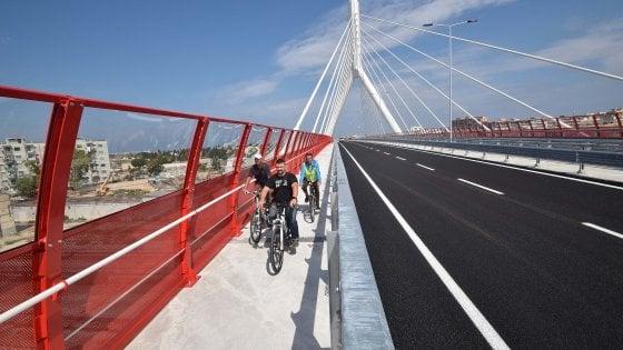 Bari, tutti a piedi e in bici sul nuovo ponte: domenica 25 settembre chiude alle auto dalle 6 alle 12
