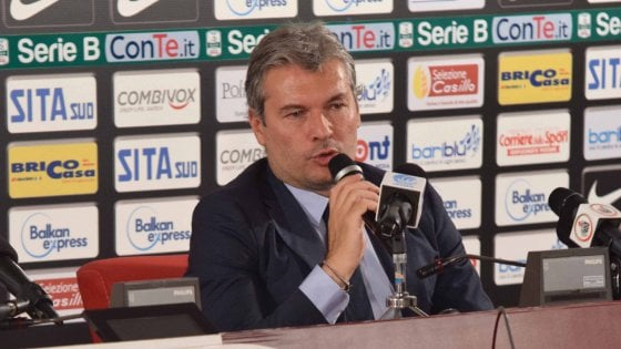 """Bari, l'ultimatum di Sogliano a Stellone: """"Un allenatore dipende dai risultati"""""""