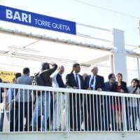 Bari, debutta la stazione di Torre Quetta: 40 treni al giorno e un sottopasso