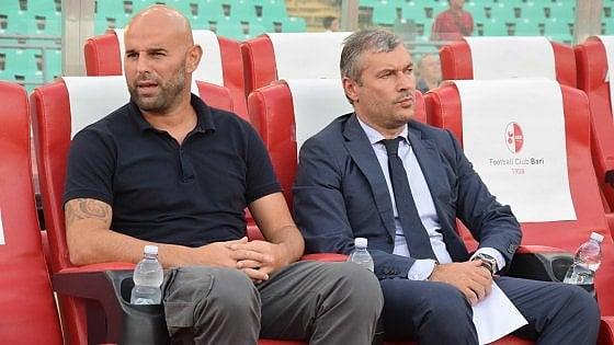"""Bari calcio, è alta tensione tra Stellone e il direttore sportivo: """"Sogliano stia sereno"""""""
