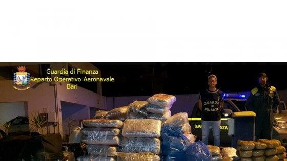 Droga: Gdf sequestra 500 kg marijuana nel Basso Adriatico