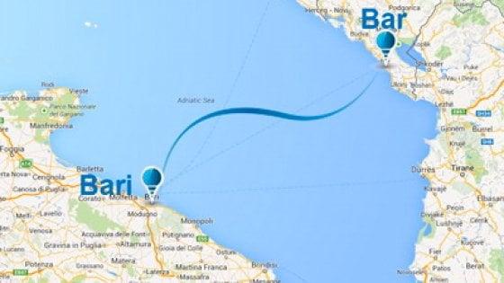 Bari, il traghetto è troppo vecchio: a rischio il collegamento con Bar (Montenegro)