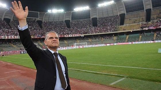 """Il presidente del Bari ha chiesto la residenza nello stadio San Nicola: """"Ho il divano letto in ufficio"""""""