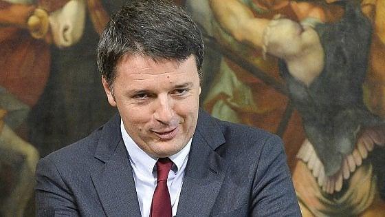 Manovra, Renzi: