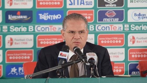 """Bari calcio, parla Giancaspro: """"Voglio la residenza al San Nicola per avere lì tutta la posta"""""""