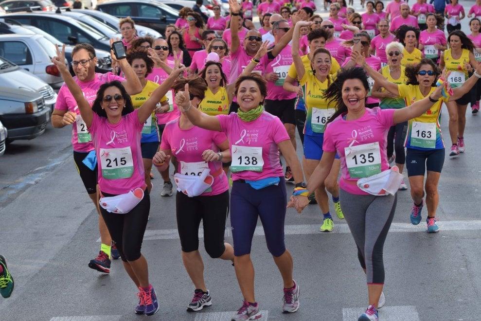Avon Running, a Bari un fiume rosa contro i tumori