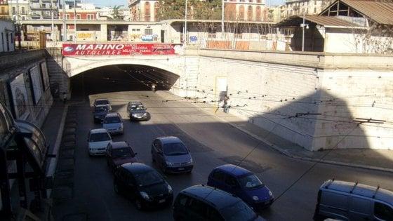 Bari, chiuso per tre notti il sottopassaggio di via Quintino Sella: lo stop dal 18 al 20 ottobre